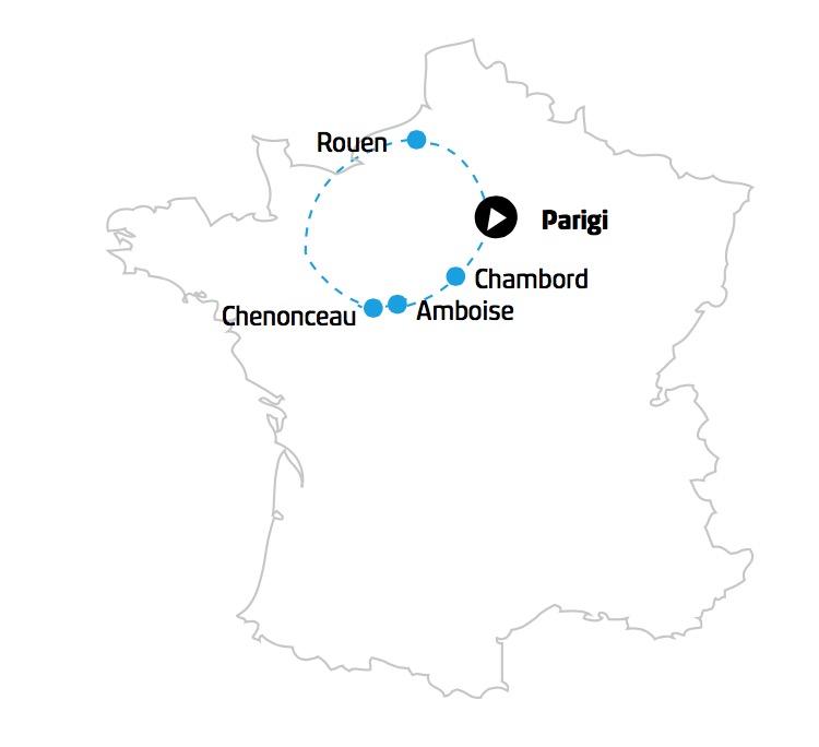 francia mappa