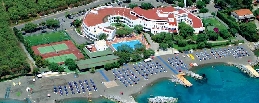 Hotel Torre Oliva - Vista Aerea_Policastro