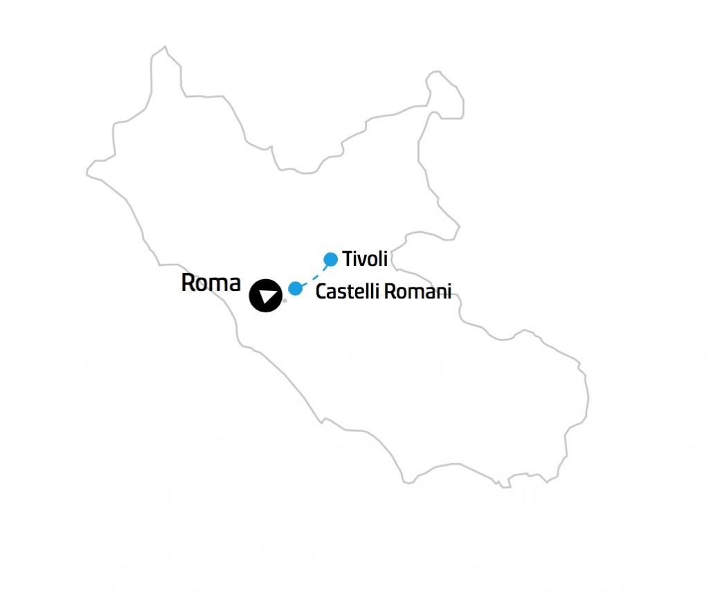 Lazio Mappa