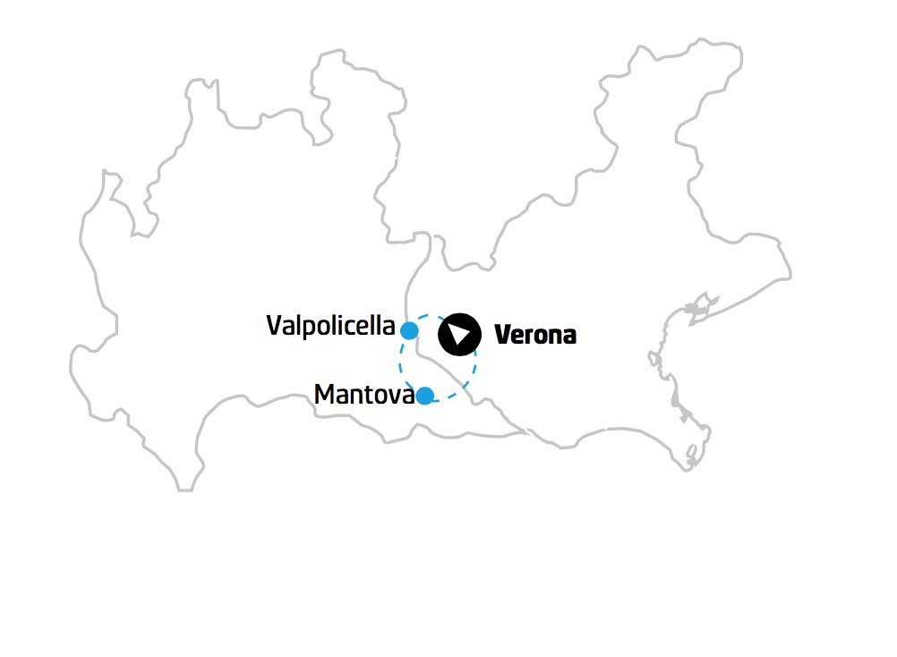 Veneto Lombardi Mappa