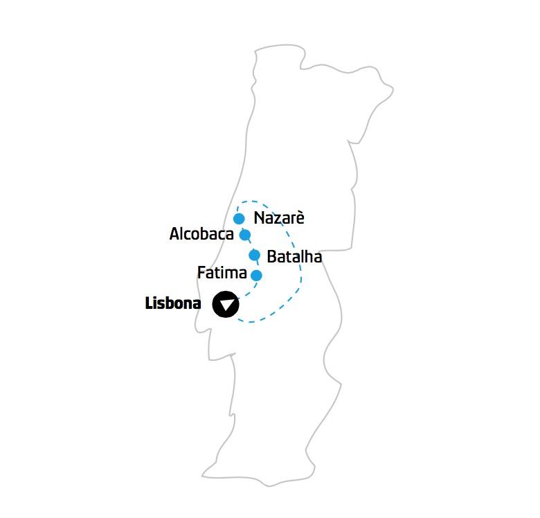 Portogallo mappa