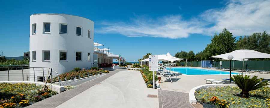 Medea Beach Resort - Facciata_Paestum_Agropoli