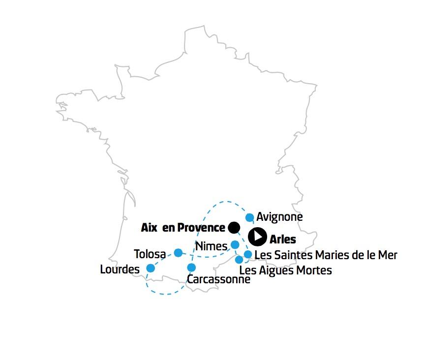 Francia Camargue Provenza