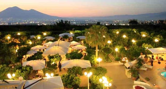 Hotel La Medusa panorama notte