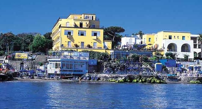 Hotel Parco Aurora - Facciata - ischia porto