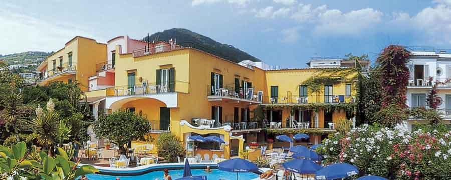 Hotel Royal Terme - Facciata - ischia porto