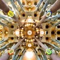 Dettaglio_Navata centrale Sagrada Familia