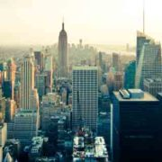 Veduta dall Empire State Building