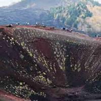 Etna Veduta aerea cratere