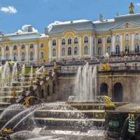 Dettaglio_Fontane a Peterhof