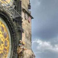 Praga_Orologio Astronomico e S. Maria di Tyn