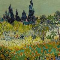 Vincent Van Gogh_Giardino fiorito a Arles